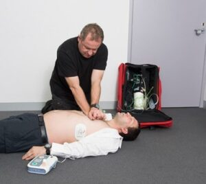 CPR Training Image at Fire and Safety Australia