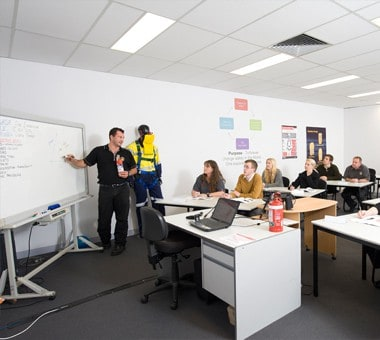 Fire and Safety Australia's theory Classroom