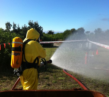 Hazmat Training at Fire and Safety Australia