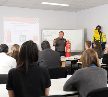 Training Course in Fire and Safety Australia Classroom