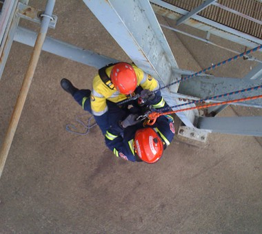 Vertical Rescue Training at Fire and Safety Australia