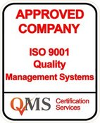 Approved Company by ISO 9001 QMS Accreditation
