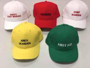 Fire Warden & Safety Caps - Fire & Safety Australia