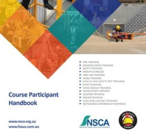 Fire and Safety Australia Course Participant Handbook Cover