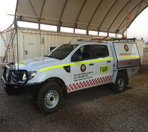 Fire and Safety Australia Emergency Vehicle